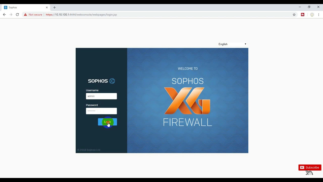 [Sophos XG Firewall] How to change the default admin password step by step  in Hindi | New Video