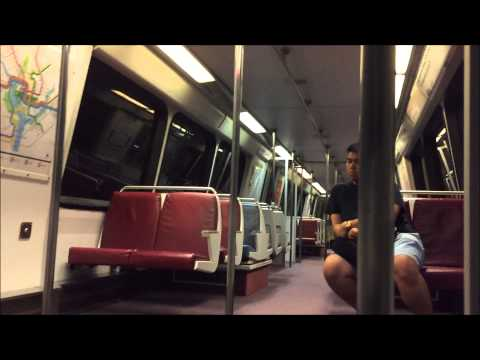 Washington Metrorail HD 60 FPS: Riding CAF 5000 Series on Blue Line (Largo Town Center-Metro Center)