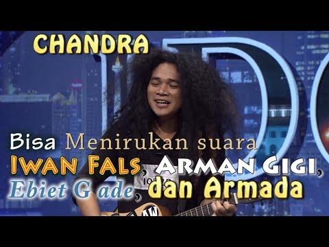 Chandra Keren Menirukan Suara Penyayi Terkenal - Audisi Indonesian Idol 2018