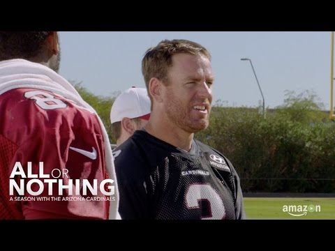 Carson Palmer on Best Basketball Skills | All or Nothing: A Season with the Arizona Cardinals