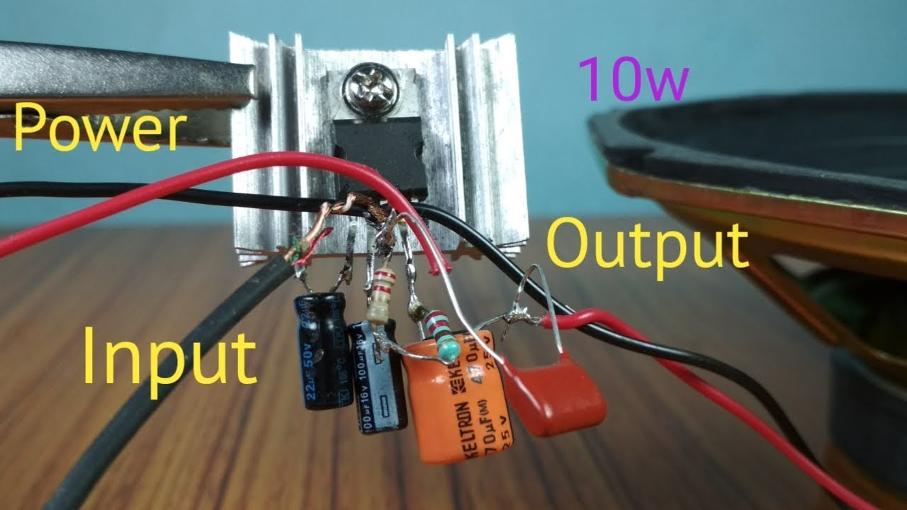 Circuit Diagram 10w Mini Audio Amplifier Trusted Wiring Hifi 60w Amplifiercircuitsaudio With Tda2003 Youtube Integrated
