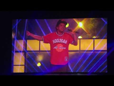 Bruno Mars Performing 'Versace On The Floor' Prudential Center In Newark, NJ 10/2/2018