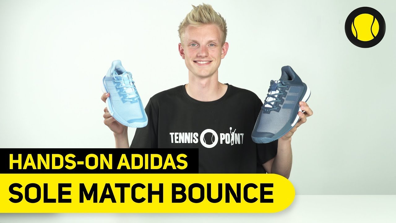 BounceHands Match Adidas Sole Point On Tennis rxWdCeoB