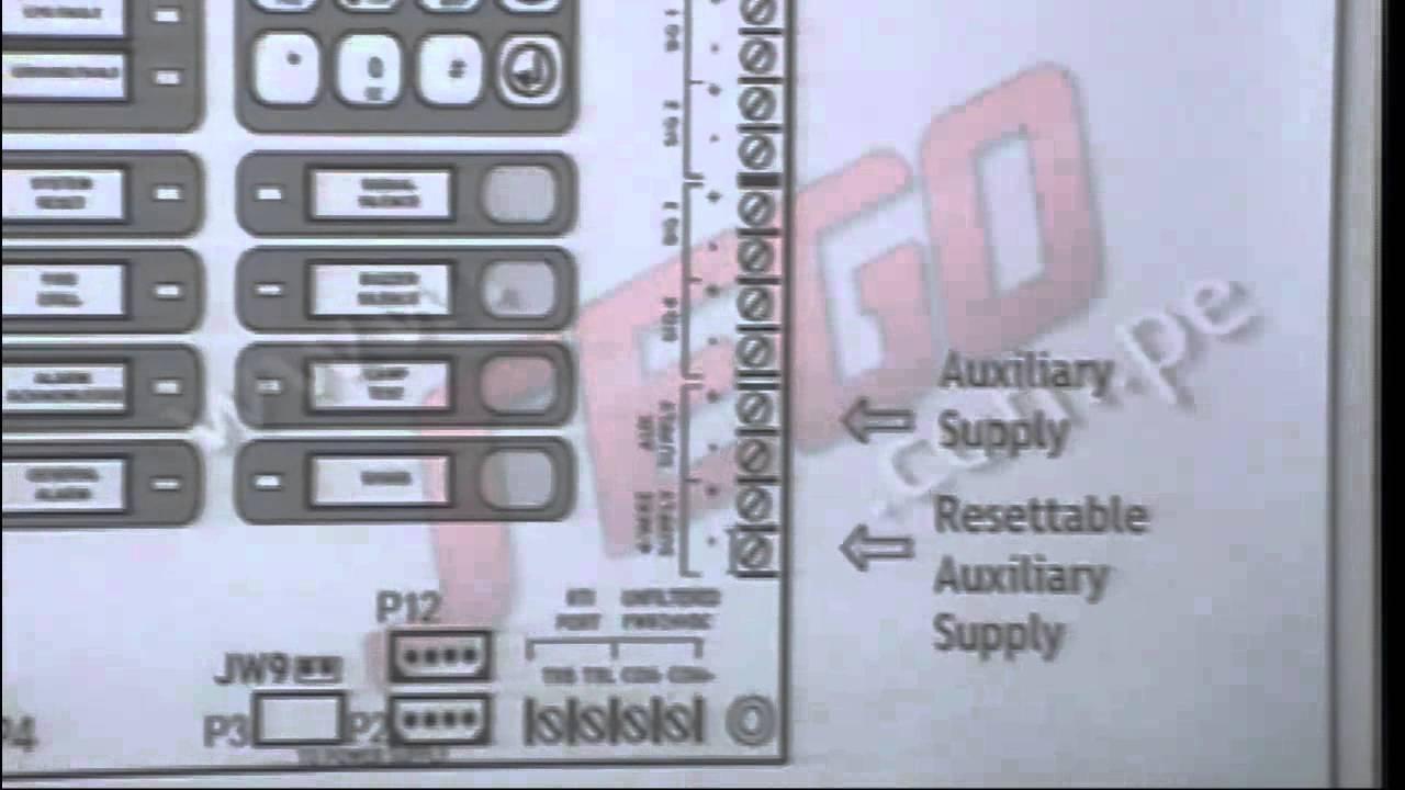 Charla t cnica sego sistemas de alarma contra incendio for Sistema de alarma