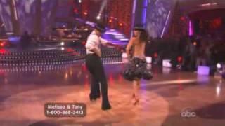 Melissa Rycroft and Tony Dovolani Dancing with the stars cha cha cha
