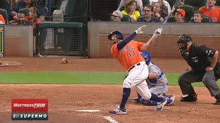 8/4/17: Astros' offense scores 16 runs vs. Jays