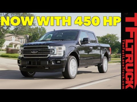 Breaking News:  Ford F- Limited Gets Raptor&#;s .L Twin Turbo Engine!