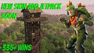 "*New* Fortnite: ""Rex Skin Gameplay"" Jetpack Coming Soon? - Fortnite Sponsor Saturday (335+ Wins)"