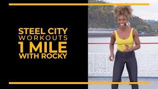 Тренировки Steel City  1 миля с Рокки
