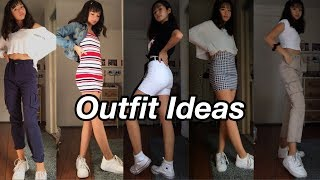 basic but cute outfit ideas//lookbook