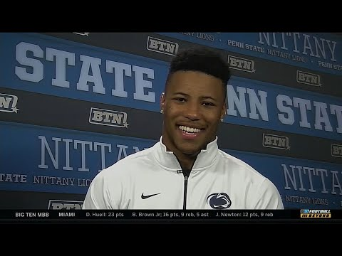 Saquon Barkley - 2017 B1G Offensive Player of the Year Interview