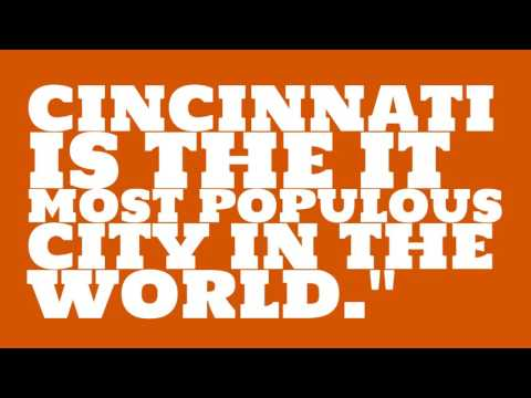 When was Cincinnati elected?