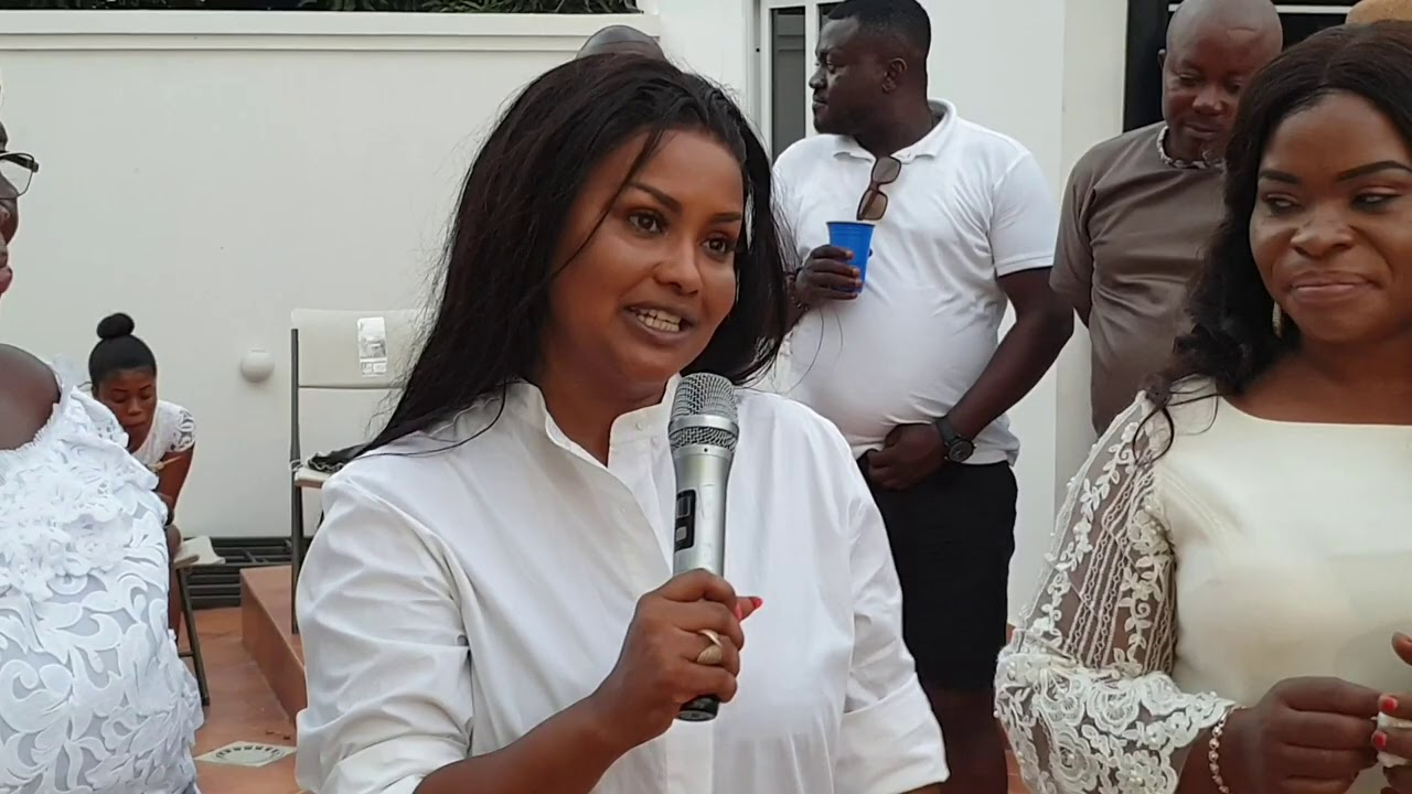 NANA AMA MCBROWN'S PRIVATE 43RD BIRTHDAY PARTY INSIDE HER NEW MANSION