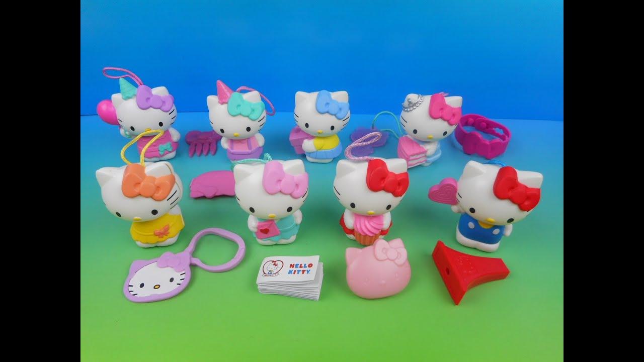 Hello Kitty Happy Meal Toys : Hello kitty th anniversary birthday set of