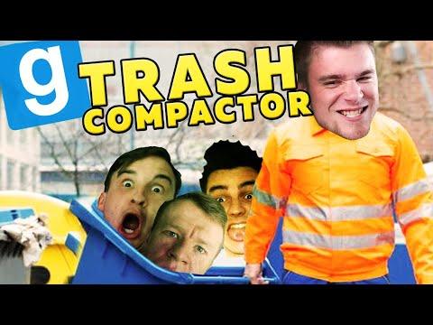 WYRZUCAM ŚMIECI!   Garry's mod (With: Plaga, Dobrodziej, Drwal, Kiszak) #720 - Trash Compactor [#11]