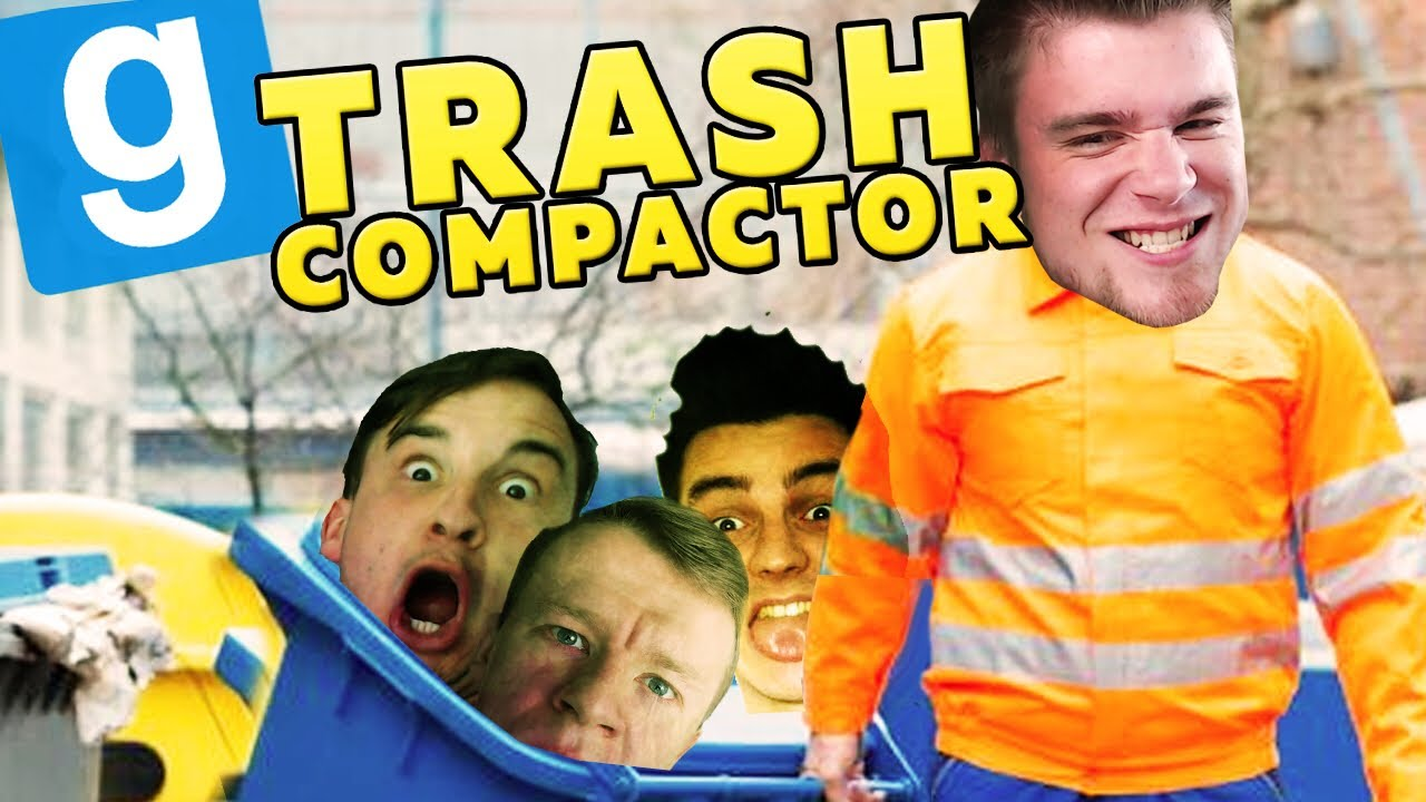 WYRZUCAM ŚMIECI! | Garry's mod (With: Plaga, Dobrodziej, Drwal, Kiszak) #720 – Trash Compactor [#11]