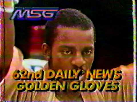 1988 New York Daily  Golden Gloves  semi finals