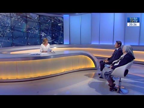 Davide Dionisi e Suor Rita Del Grosso ospiti a TGtg - telegiornali a confronto del 21 settembre 2016