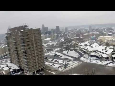 Drone footage Mt. Adams / Cincinnati Ohio