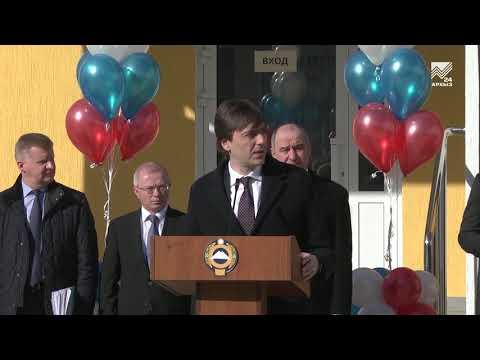 Министр просвещения РФ принял участие в открытии нового корпуса гимназии в Черкесске