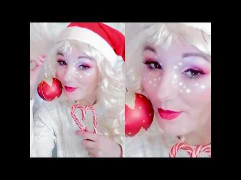 Christmas  Образ Санта Макияж Санта 2020