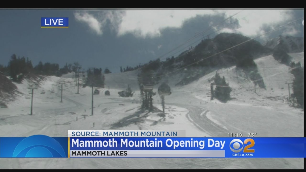 6e1a6c2d157 Mammoth Mountain Welcomes Skiers