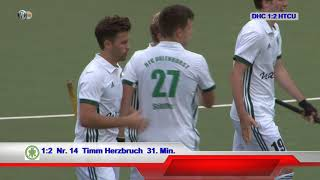 1. Feldhockey-Bundesliga Herren DHC vs HTCU 09.09.2018 Highlights