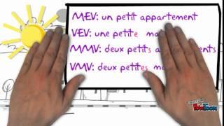 Frans: bijvoeglijk naamwoord