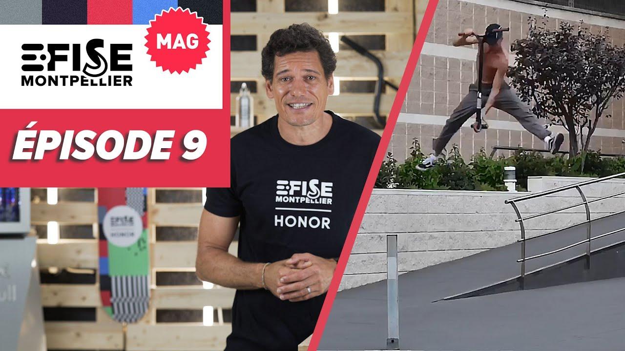 E-FISE LE MAG #9 : FINALES AMATEURS en trottinette freestyle, skate, roller, breaking et BMX !