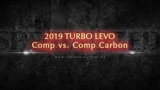 Test: 2019 Specialized Turbo LEVO: COMP vs COMP CARBON