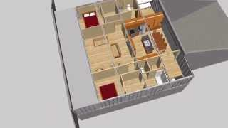 Underground Container House Design