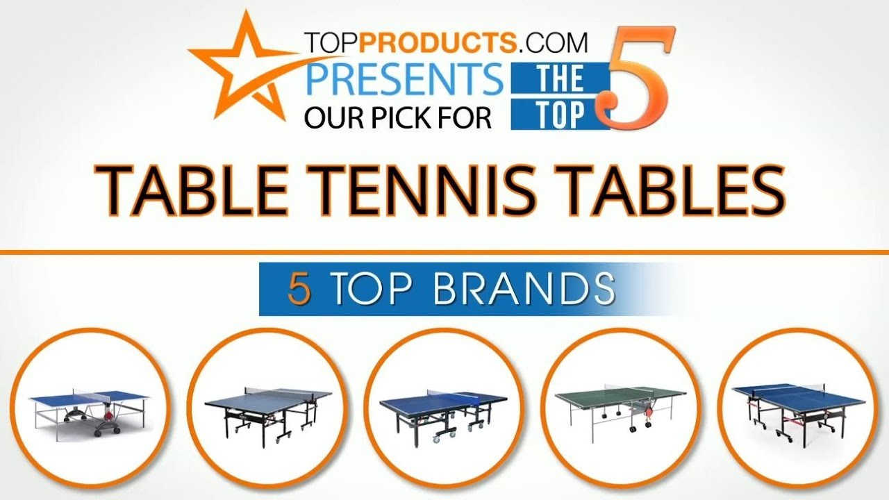 Best Table Tennis Table Reviews 2017 U2013 How To Choose The Best Table Tennis  Table