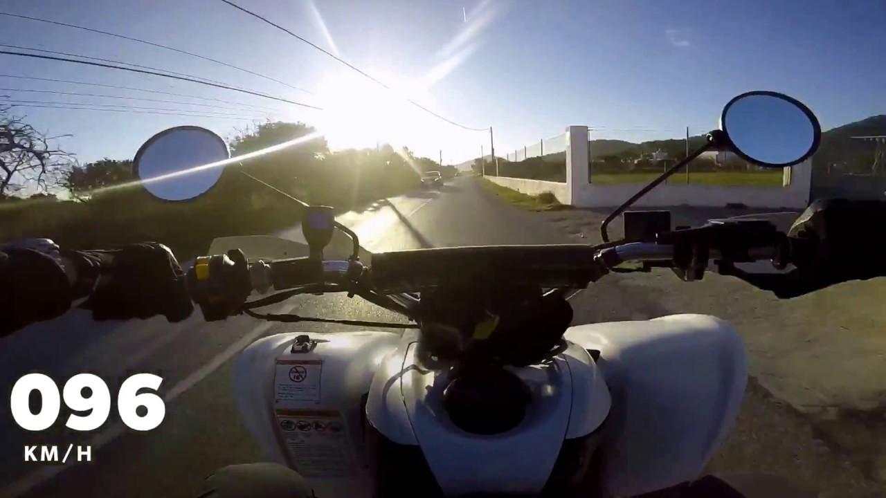 Suzuki Ltz 400 top speed - YouTube