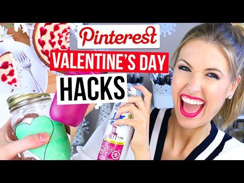 Pinterest Hacks TESTED #8 || VALENTINE