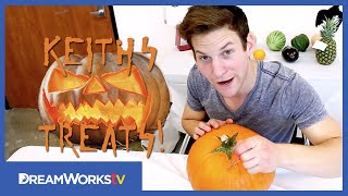 How To Carve A Pumpkin for Halloween | KEITH'S TREATS