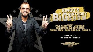 Tune In 7/7 For Ringo's Big Birthday Show!