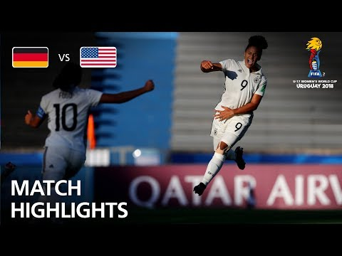 Germany v USA  - FIFA U-17 Women's World Cup 2018™ - Group C