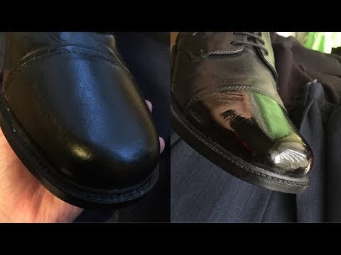 POLISHING SHOES FROM BEGINNING