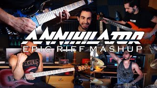 ANNIHILATOR   Epic Riff Mashup   42 Riff Compilation