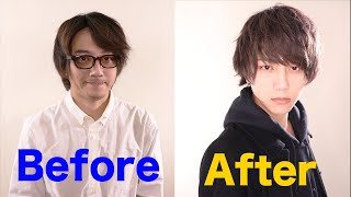 when a loser learns how to set his hair. | Japanese Men's hair style