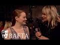 Emma Stone Red Carpet Interview | BAFTA TV Film Awards 2017 video & mp3
