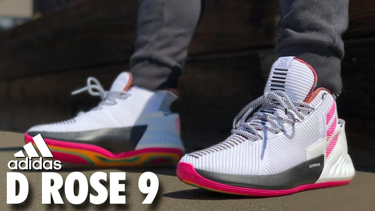 60095b1ef93e adidas D ROSE 9 REVIEW - YouTube