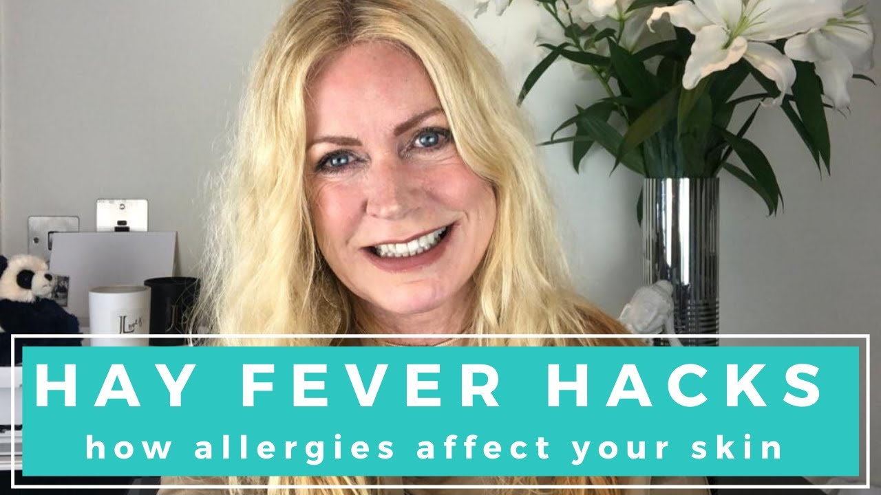 BEST PRODUCTS FOR DRY, ITCHY EYES I HAYFEVER HACKS I HOW ALLERGIES AFFECT YOUR SKIN