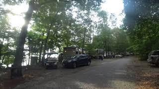 Camping at Chesapeake Bąy RV Resort