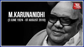 Kalaignar M. Karunanidhi Passes Away   Breaking News