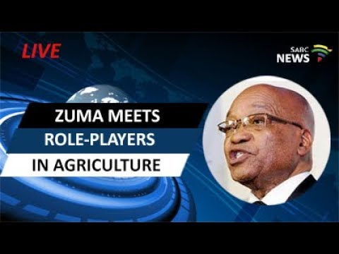 President Zuma meets role-players in agriculture