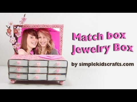 How To Make A MATCHBOX JEWELLERY DRAWERS