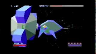 Star Fox SNES Course 1 Part 2: Asteroid Belt--Rock Crushing Time