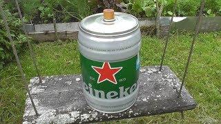 Применение пивного бочонка. Что внутри мини-кеги Heineken