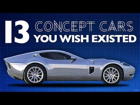 13 Concept Cars You Wish Existed